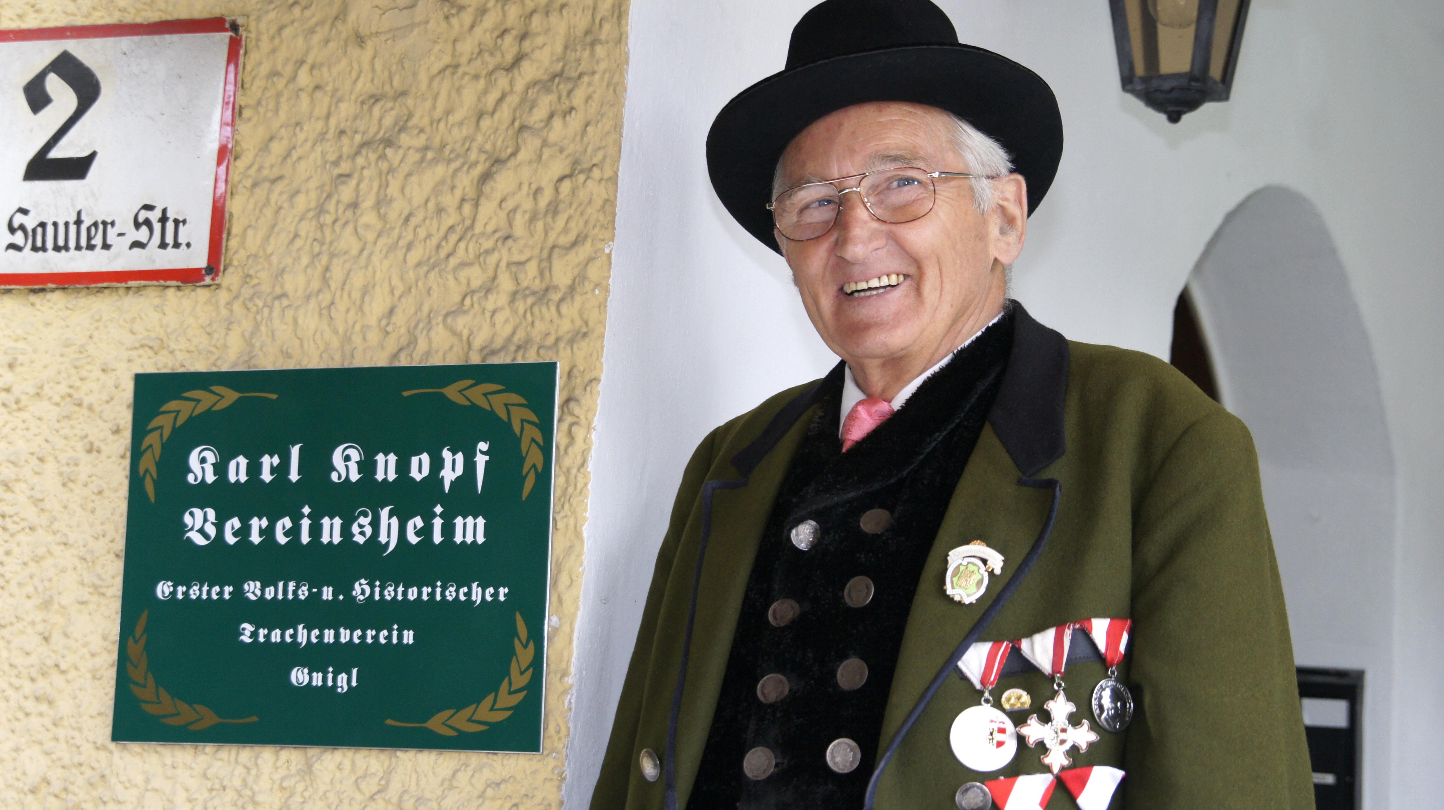 """Neuer Name, altes Glück - """"Karl Knopf-Vereinsheim"""""""