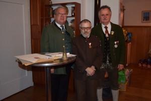 Hannes Niedermayer, Dieter Fröhlich, Anton Stefan