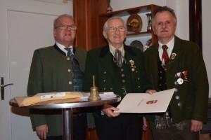 Hannes Niedermayer, Karl Knopf und Anton Stefan